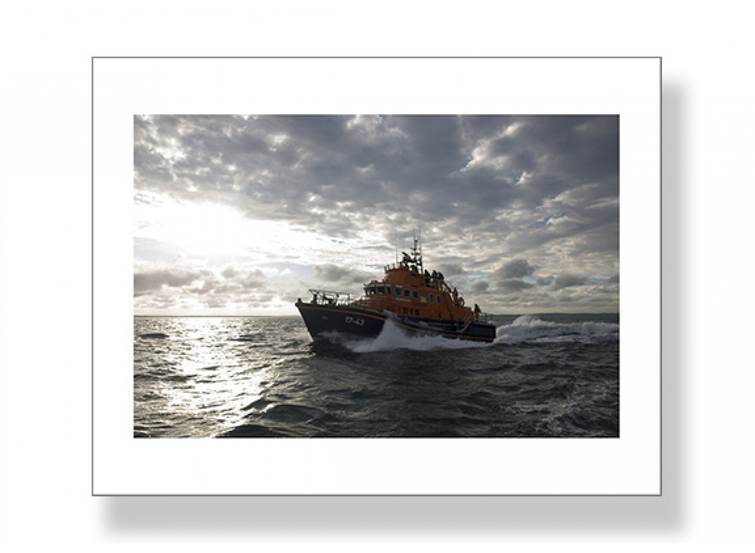 RNLI Trent Class Lifeboat