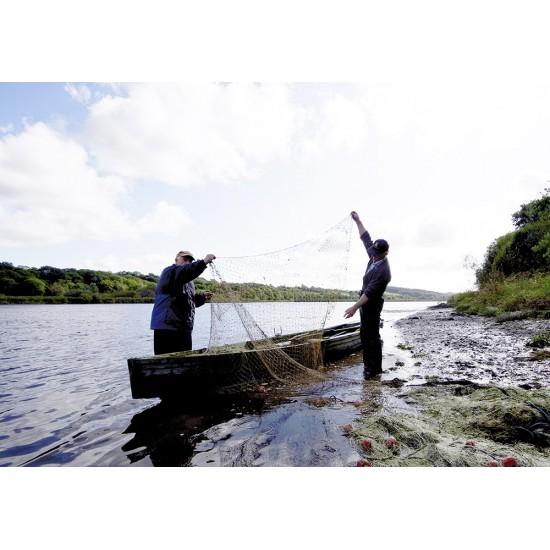 Salmon netting on the River Slaney